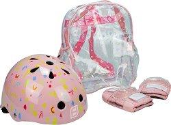 """Детска каска и протектори - Комплект от серията """"Funbee"""" -"""