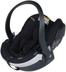 Бебешко кошче за кола - iZi Go Modular X1 i-Size: Fresh Black Cab - За деца от 0 месеца до 13 kg - пюре