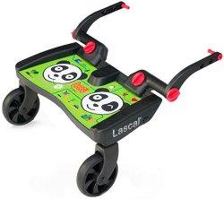 Универсален слайдър за второ дете - BuggyBoard Maxi: Panda - Аксесоар за детска количка - пюре