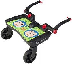 Универсален слайдър за второ дете - BuggyBoard Maxi: Monkeys - Аксесоар за детска количка - пюре
