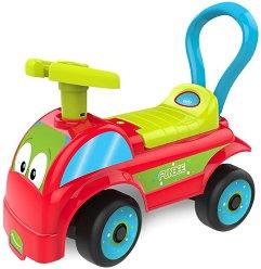 Детска кола за бутане - Камион - В комплект със стикери -
