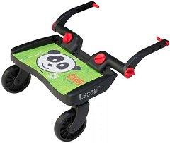 Универсален слайдър за второ дете - BuggyBoard Mini: Panda City - Аксесоар за детска количка - пюре