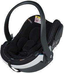 Бебешко кошче за кола - iZi Go Modular X1 i-Size: Premium Car Interior Black - За деца от 0 месеца до 13 kg - пюре
