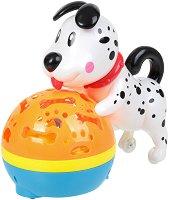 Проектор - Куче - Детска играчка със светлинни и звукови ефекти -