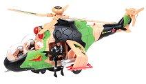 Боен хеликоптер - MI-24 - Детска играчка със звукови и светлинни ефекти -