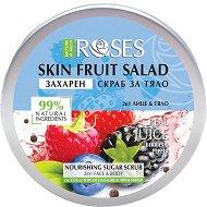 Nature of Agiva Roses Fruit Salad Nourishing Sugar Scrub - Захарен скраб за лице и тяло с горски плодове и черен пипер - гел