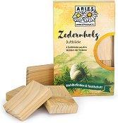 Ароматни дървени блокчета против молци - Опаковка от 4 броя