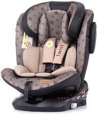 """Детско столче за кола - Twist - За """"Isofix"""" система и деца от 0 месеца до 36 kg -"""