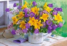 Букет с цветя -