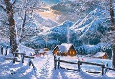 Снежна сутрин - пъзел