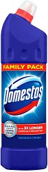 Почистващ препарат за баня и тоалетна - Domestos - Разфасовка от 0.750 l - продукт