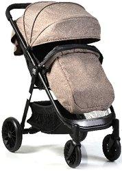 Лятна бебешка количка - Sindy - С 4 колела -