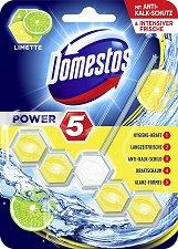 Ароматизатор за тоалетна - Domestos Power 5 - продукт