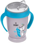 Неразливаща се чаша с мек накрайник и дръжки - Indian Summer 250 ml - За бебета над 12 месеца -
