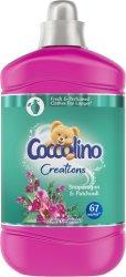Омекотител за пране с аромат на антиринум и пачули - Coccolino Creations -
