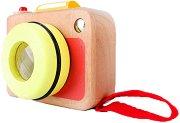 Фотоапарат - Детска дървена играчка - играчка