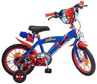 """Спайдърмен - Детски велосипед 14"""""""