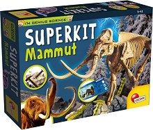 Разкопки - Скелет на Мамут - количка