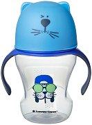 Неразливаща се чаша с мек накрайник и дръжки - Soft Sippee Trainer Cup 230 ml - За бебета над 6 месеца -