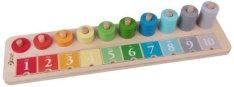 Сметало - Дървена образователна играчка -