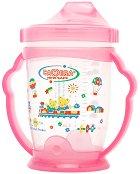 Неразливаща се чаша с твърд накрайник и дръжки - 240 ml - За бебета над 6 месеца - продукт