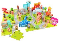 Град - Дървен конструктор -
