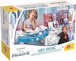 """Масичка за рисуване - Творчески комплект от серията """"Замръзналото кралство"""" - продукт"""