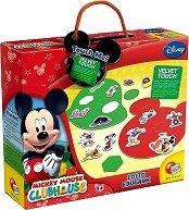 Мики Маус - Детски образователен пъзел - количка