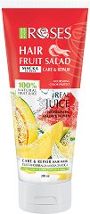 Nature of Agiva Roses Fruit Salad Hair Mask - сапун
