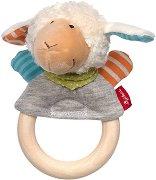 """Овца - Дървена дрънкалка от серията """"Boller Schafle"""" -"""