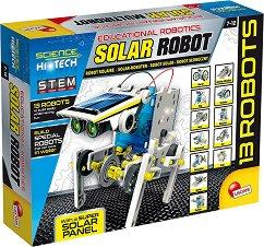 Соларни роботи - 14 в 1 - творчески комплект
