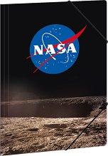 Папка с лстик - NASA - Формат A4