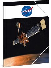 Папка с ластик - NASA - Формат A4