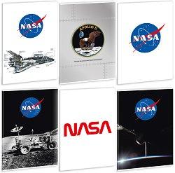 Ученическа тетрадка - NASA : Формат А4 с широки редове - 40 листа -