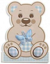 Декоративиен елемент-стикер  - Little Teddy -