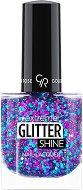 Golden Rose Extreme Glitter Shine Nail Lacquer - Брокатен лак за нокти с гел ефект - продукт