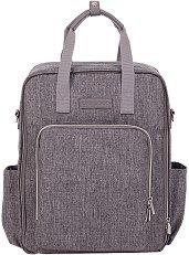 Раница - Ivy - Аксесоар за детска количка с подложка за преповиване - чанта