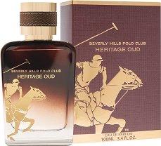 Beverly Hills Polo Club Heritage Oud EDP - Мъжки парфюм -