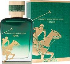 Beverly Hills Polo Club Tour EDP - Мъжки парфюм -