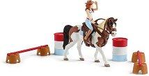 """Уестърн с Хана - Комплект за игра от серията """"Клуб по езда: Турнир"""" -"""