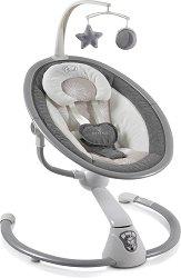 Бебешка люлка - Cloud - С мелодии и дистанционно управление -