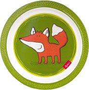 Детска меламинова чиния - Forest Fox -