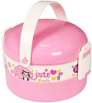 Кутия за храна - Мини Маус - Комплект с прибор за хранене - детска бутилка