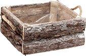 Дървена кашпа - Wood