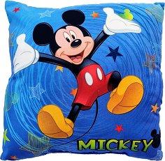 Възглавница - Мики Маус - С размери 40 x 40 cm -
