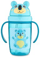 Неразливаща се чаша със сламка - Hello Little Turquoise 400 ml - За бебета над 9 месеца -