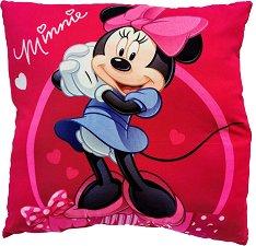 Възглавница - Мини Маус - С размери 40 x 40 cm -