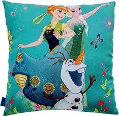 Възглавница - Замръзналото кралство - С размери 40 x 40 cm -