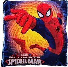 Възглавница - Спайдърмен - С размери 40 x 40 cm -