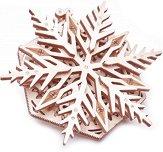 Снежинка - Механичен 3D пъзел - пъзел